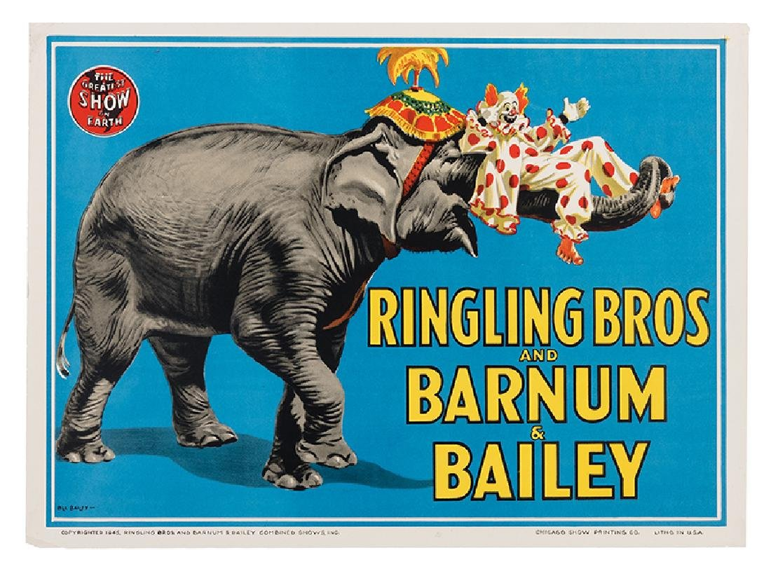 Ringling Bros. and Barnum & Bailey Circus. Elephant and