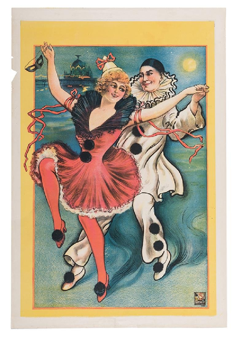 Pantomime Theater Stock Poster.