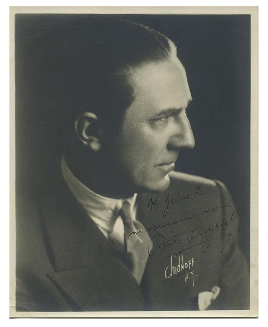 Bela Lugosi Signed Photograph by Irving Chidnoff