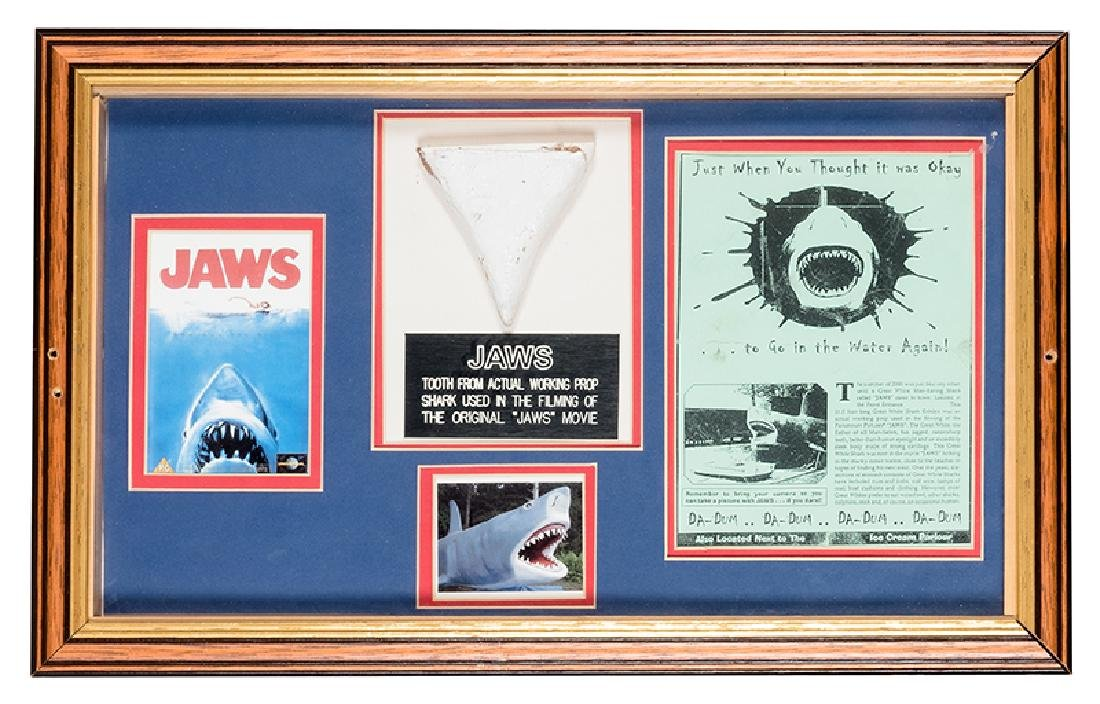 """Prop Shark Tooth from """"Jaws."""""""