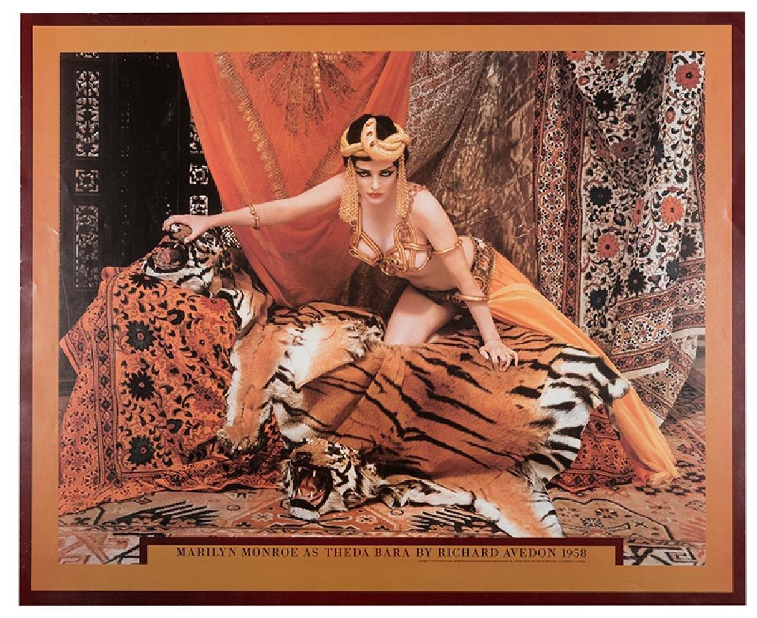"Marilyn Monroe as ""Theda Bara"" Poster."