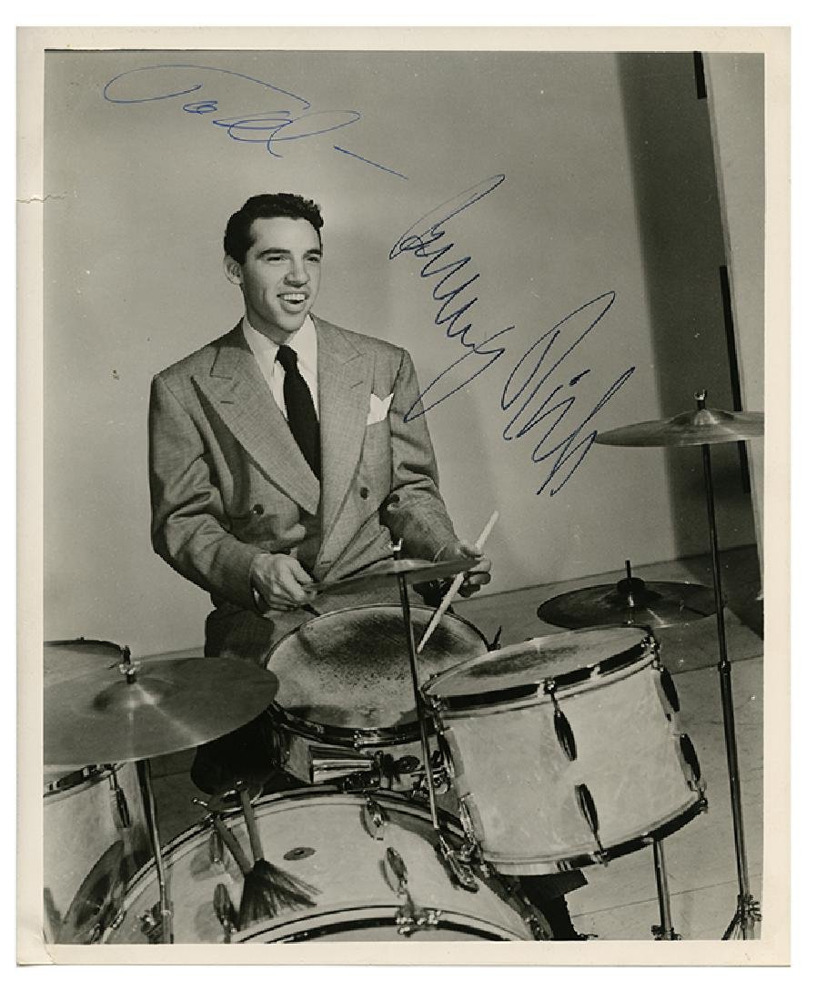 Buddy Rich Group of Photos, Records, and Ephemera, Two