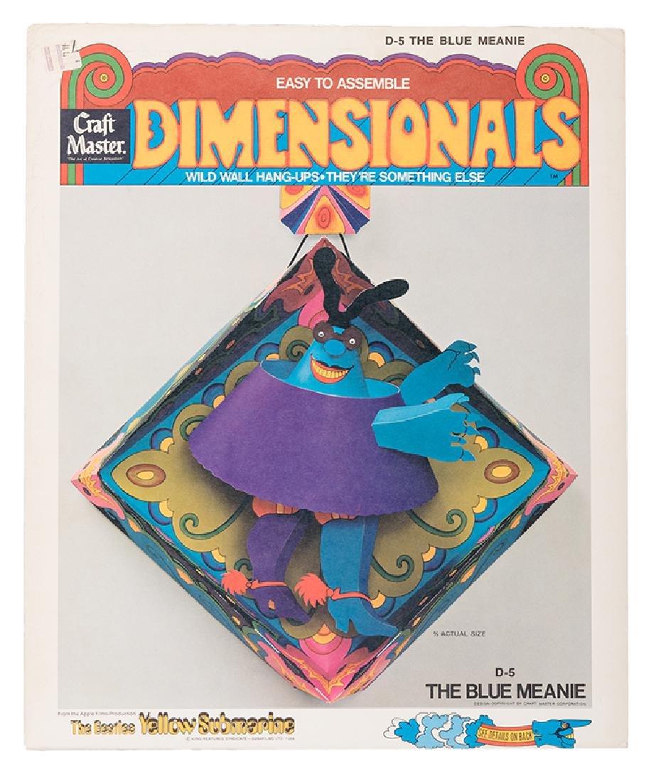 "Beatles Yellow Submarine ""Dimensionals"" Wild Wall"