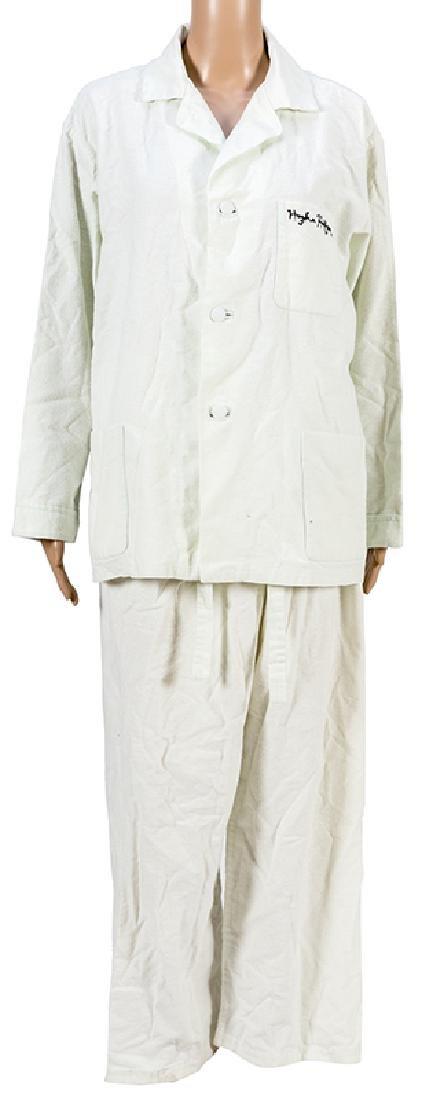 Hugh Hefner Signed Pajamas.