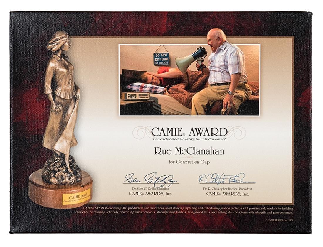 Rue McClanahan's CAMIE Award.