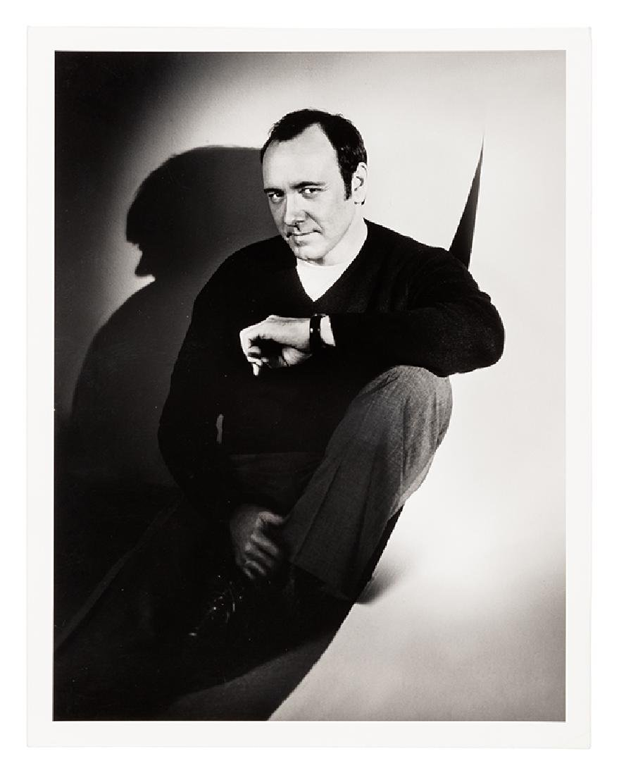 Kevin Spacey Portrait by Len Prince.