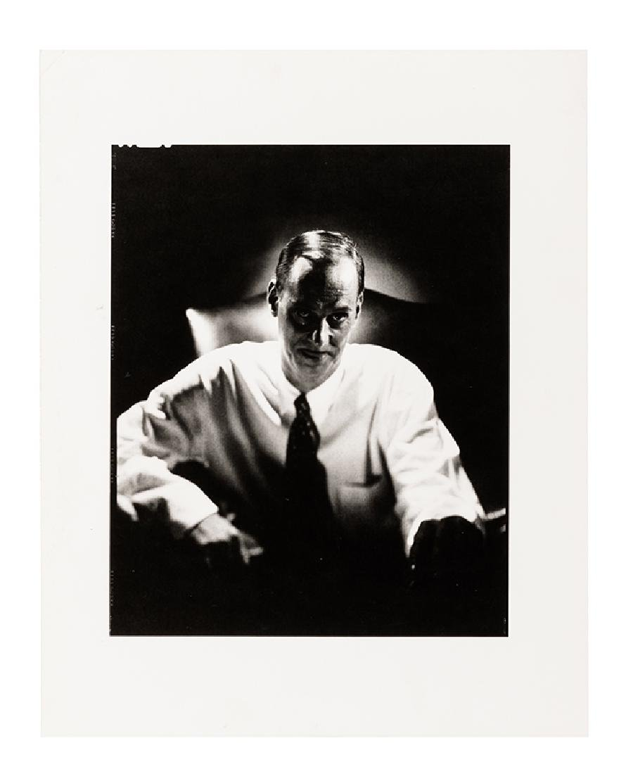 John Waters Portrait Photograph Signed by Len Prince.