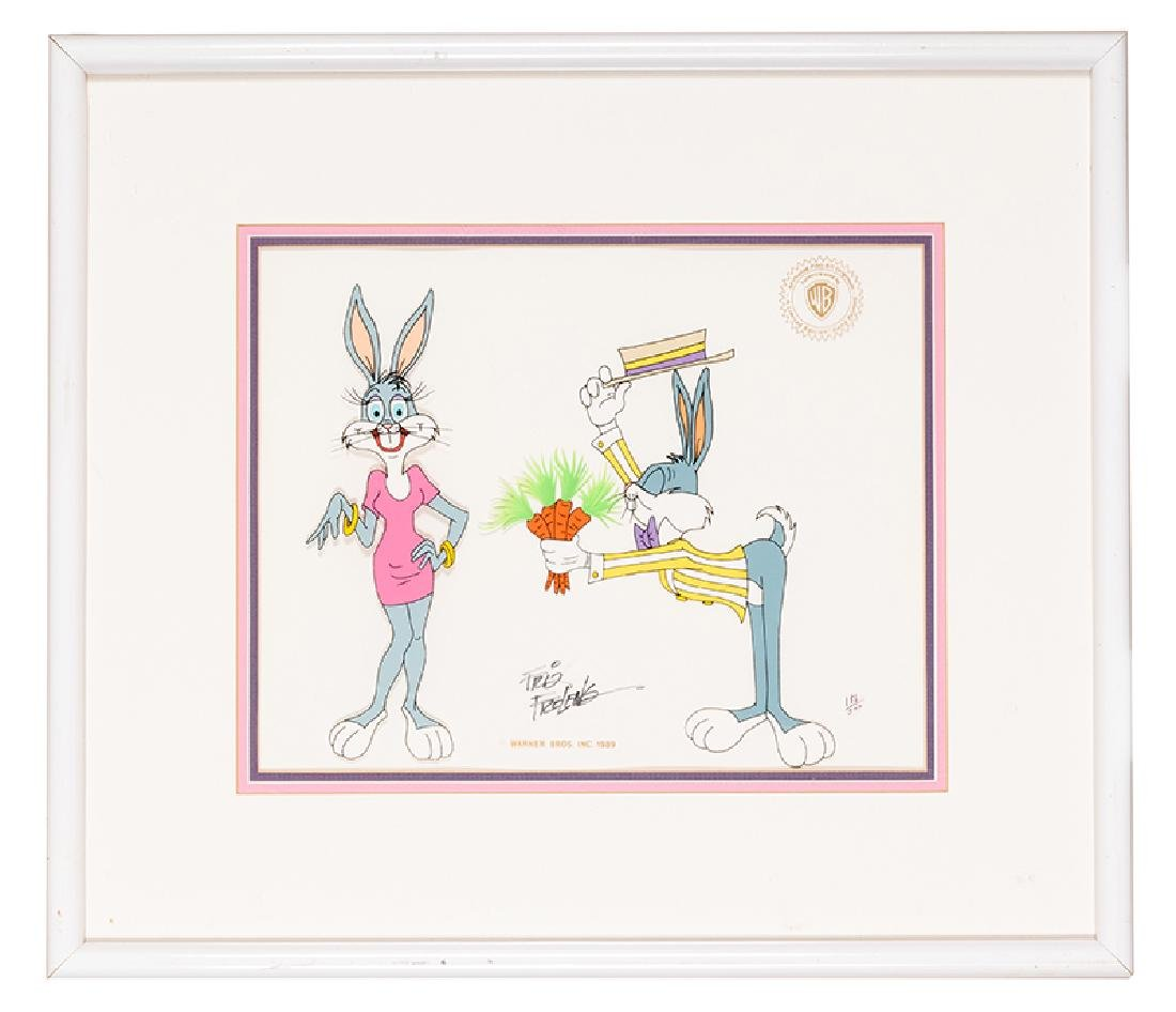 Bugs Bunny Limited Edition Friz Freleng Animation Cel.