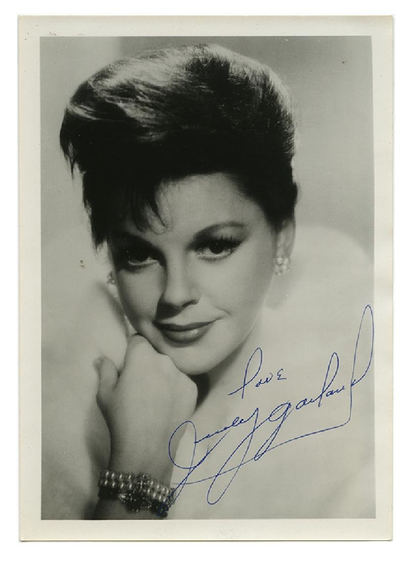 Judy Garland and Liza Minnelli autographed photos.