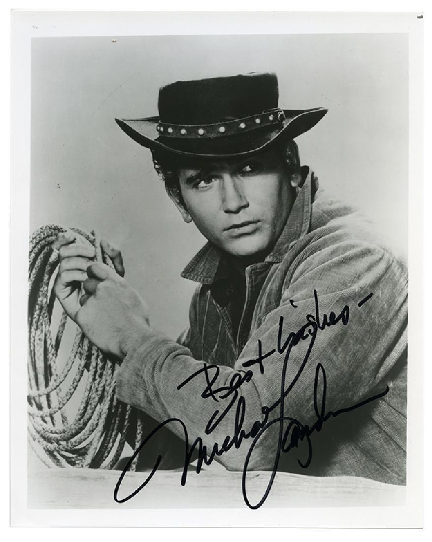 Michael Landon, James Arness, Dennis Weaver autographed