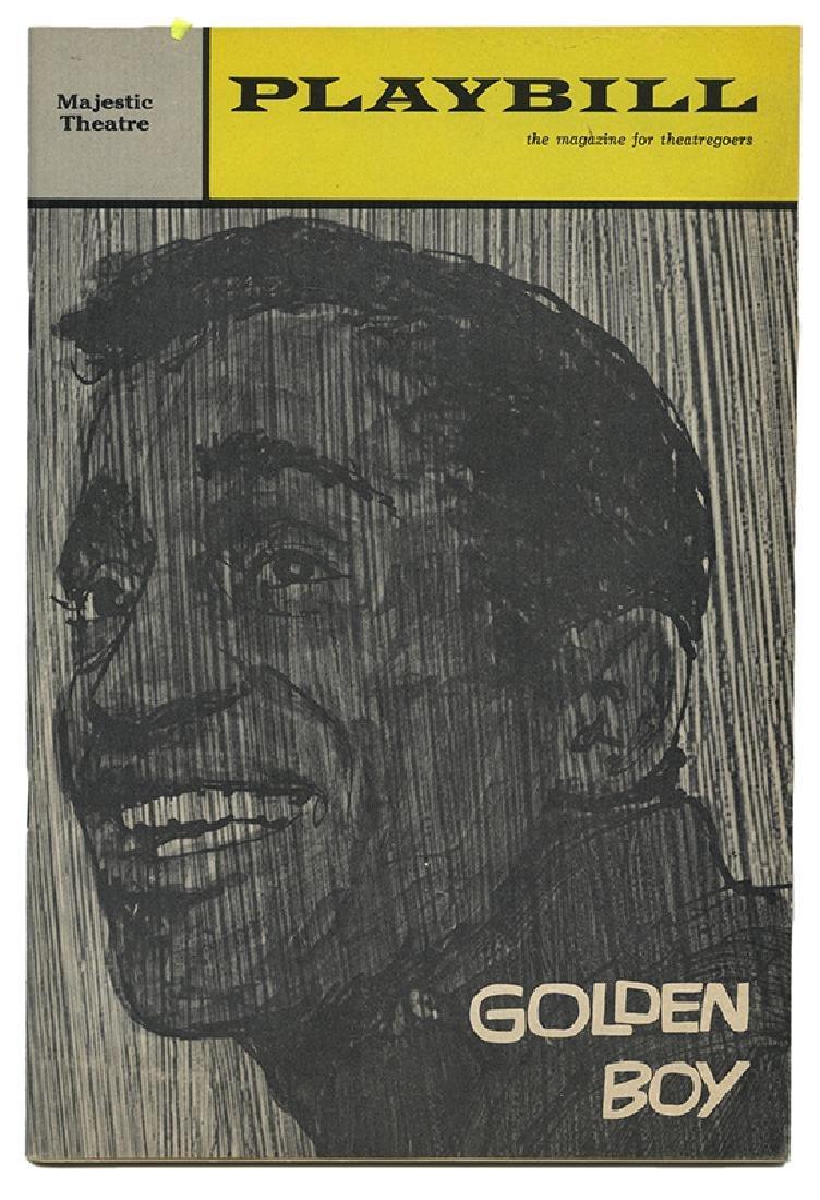"""Sammy Davis Jr. and Cast Signed """"Golden Boy"""" Playbill."""