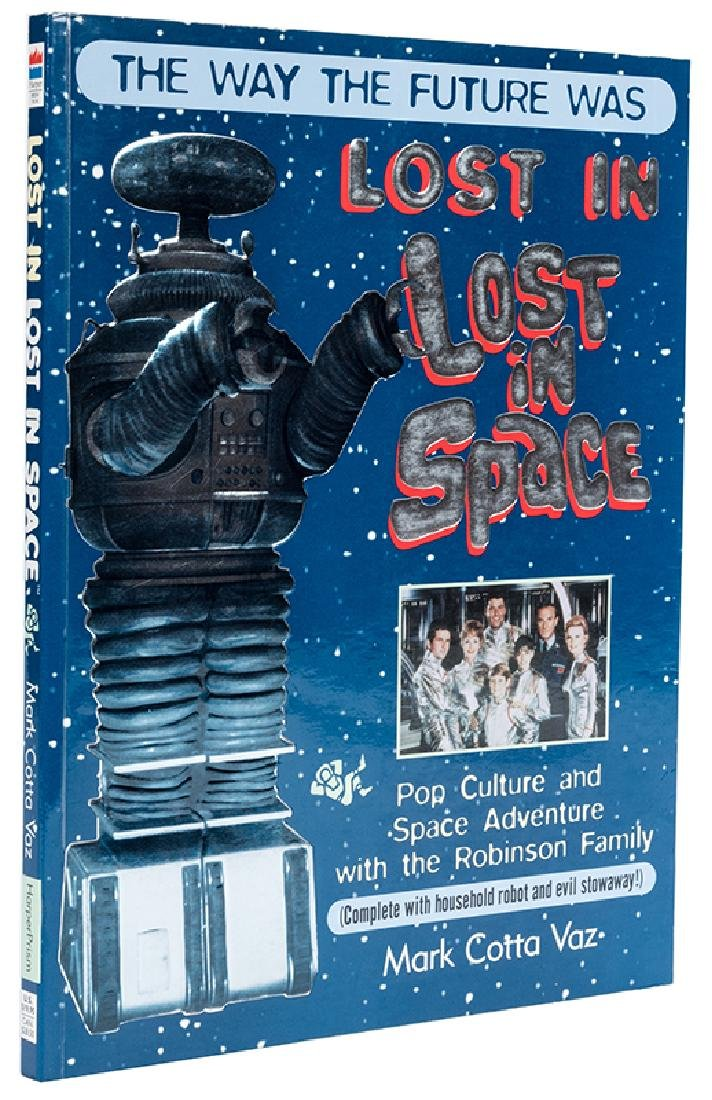Lost in Space book autographed by entire cast.