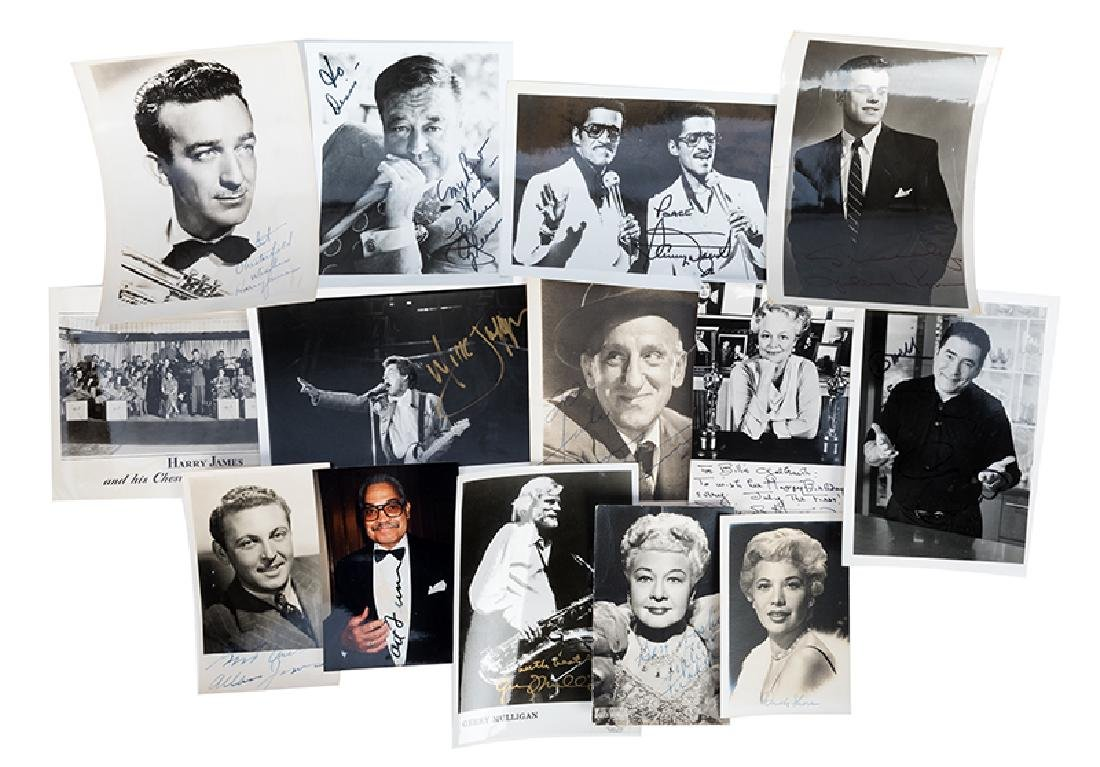 Group of signed photographs of Actors and Celebrities.