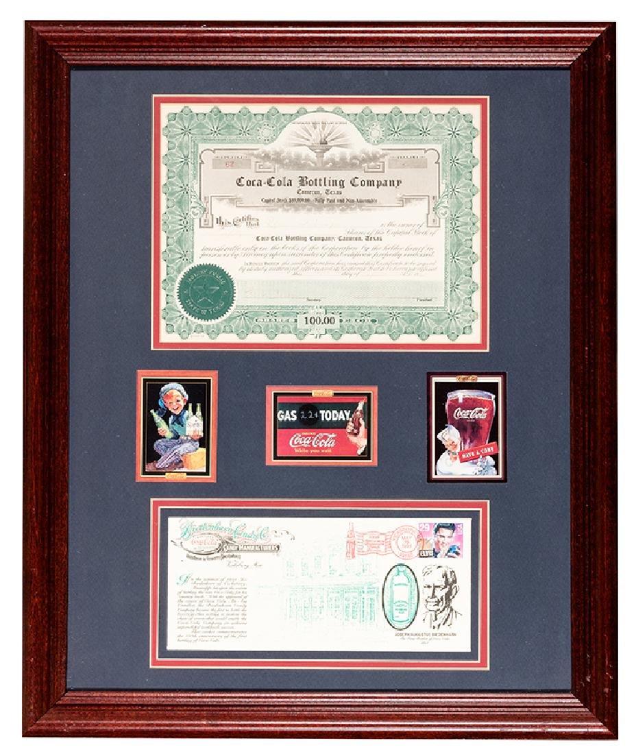 Coca Cola Bottling $5000 Stock Certificate.