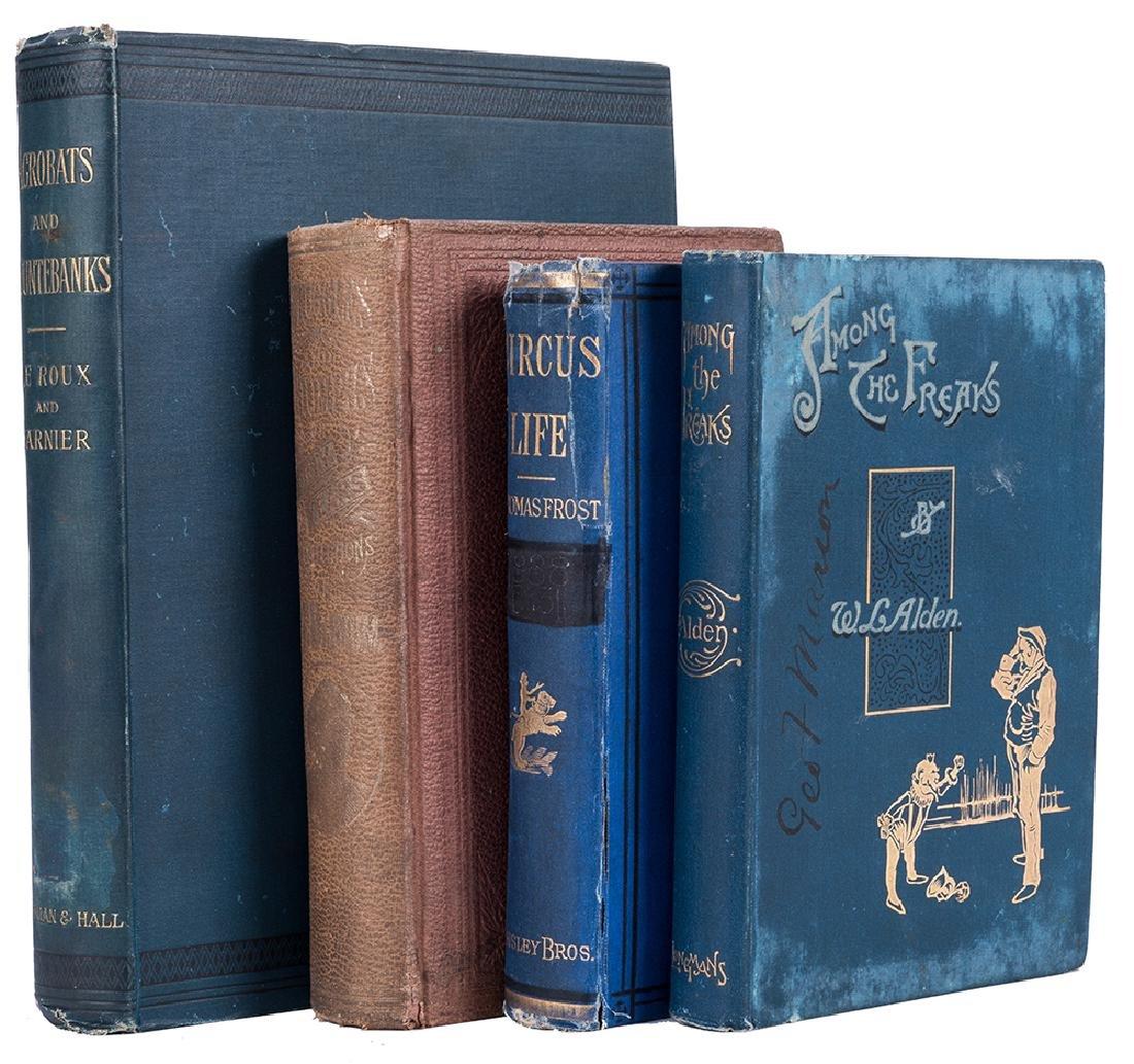 Four Antiquarian Volumes on Circus.