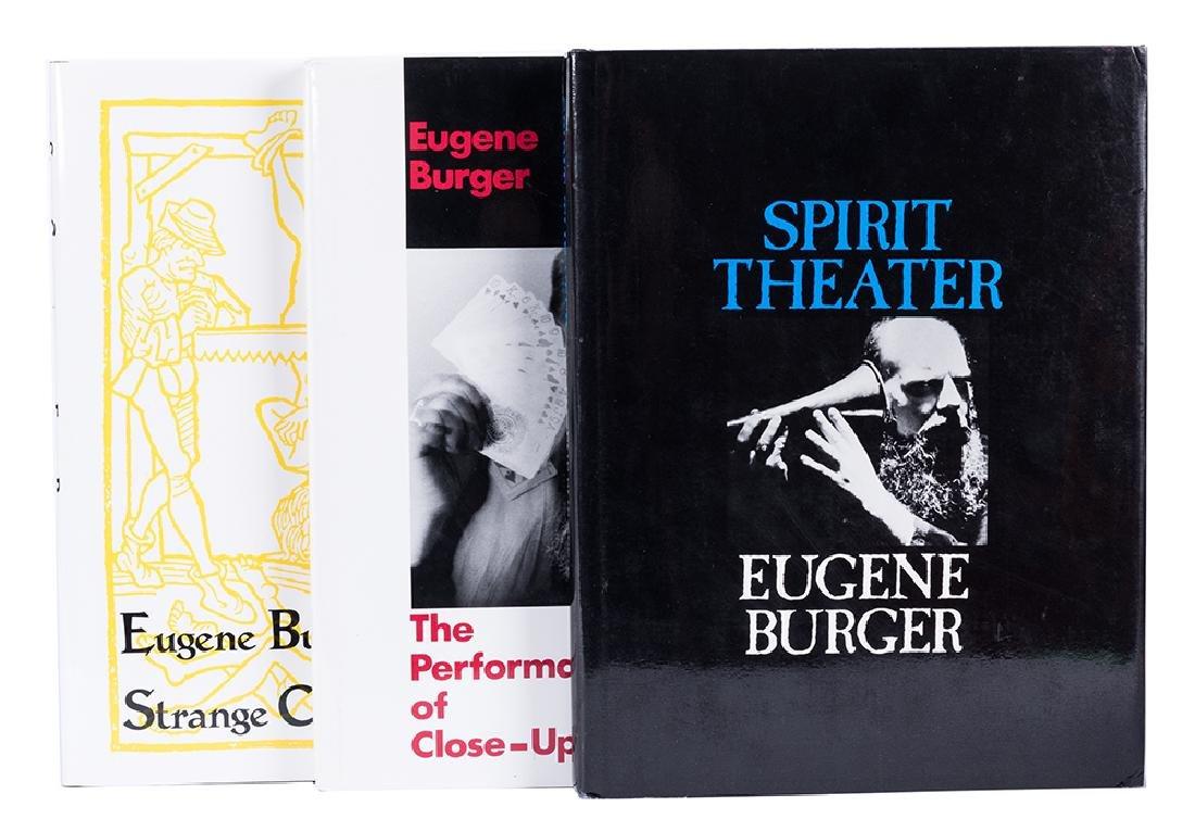 Three Eugene Burger Books on Magic.
