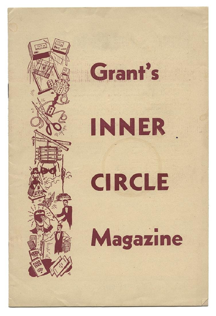Grant's Inner Circle Magazine.