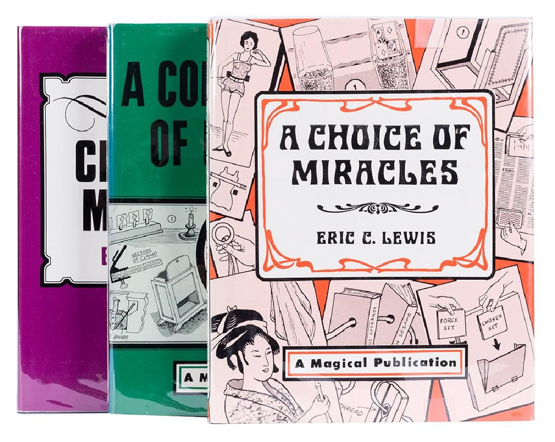 Three Volumes by Eric C. Lewis.
