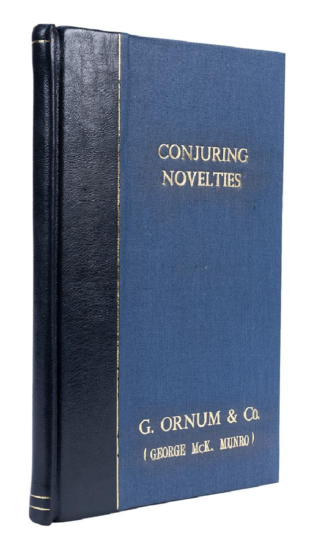 Ornum & Co.'s Conjuring Novelties Catalog.