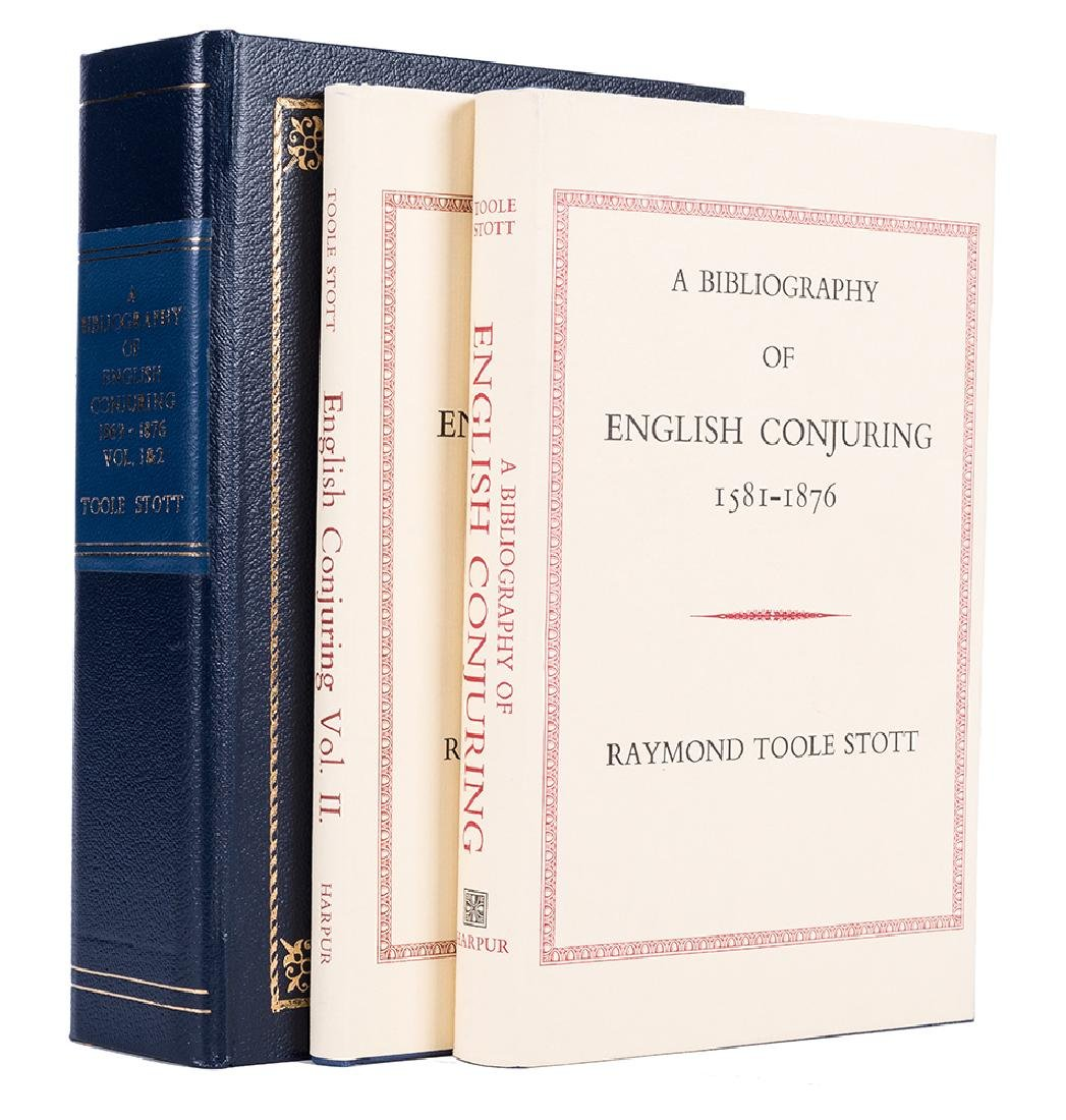 A Bibliography of English Conjuring. Vol. 1—2.