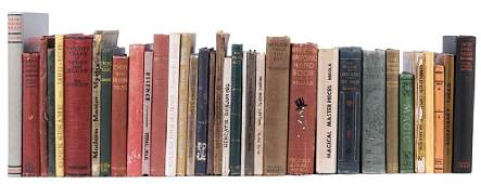 Group of 35 Vintage Books on Conjuring.