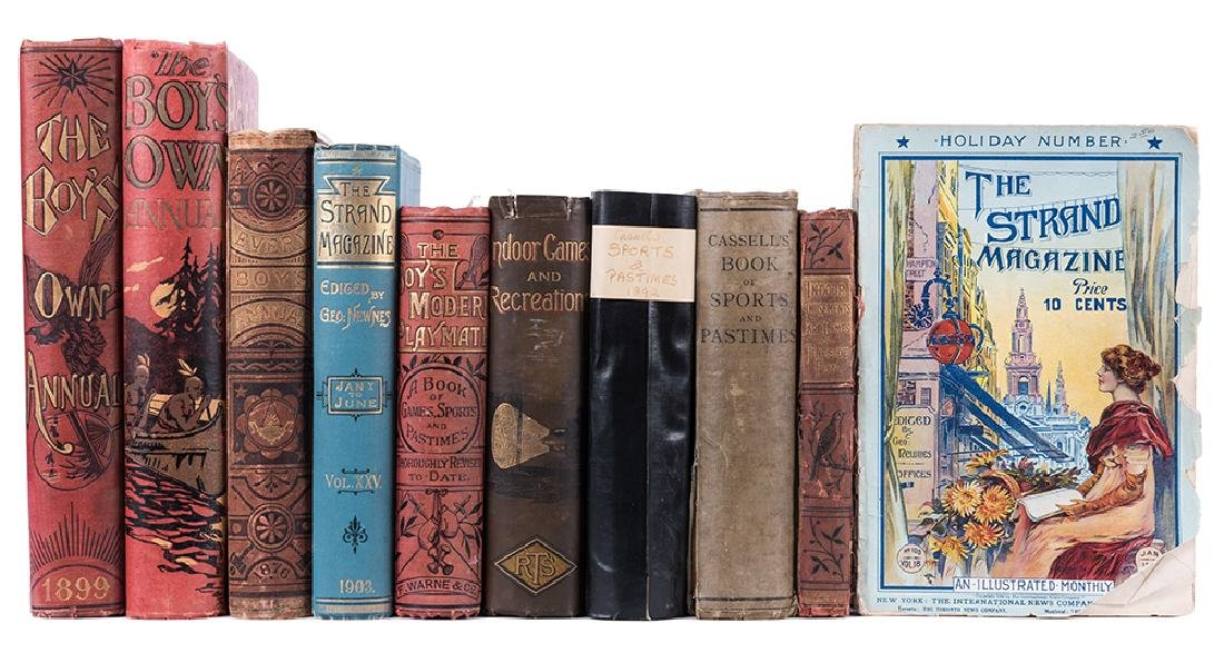 Ten Antiquarian Books on Amusements, Magic, and