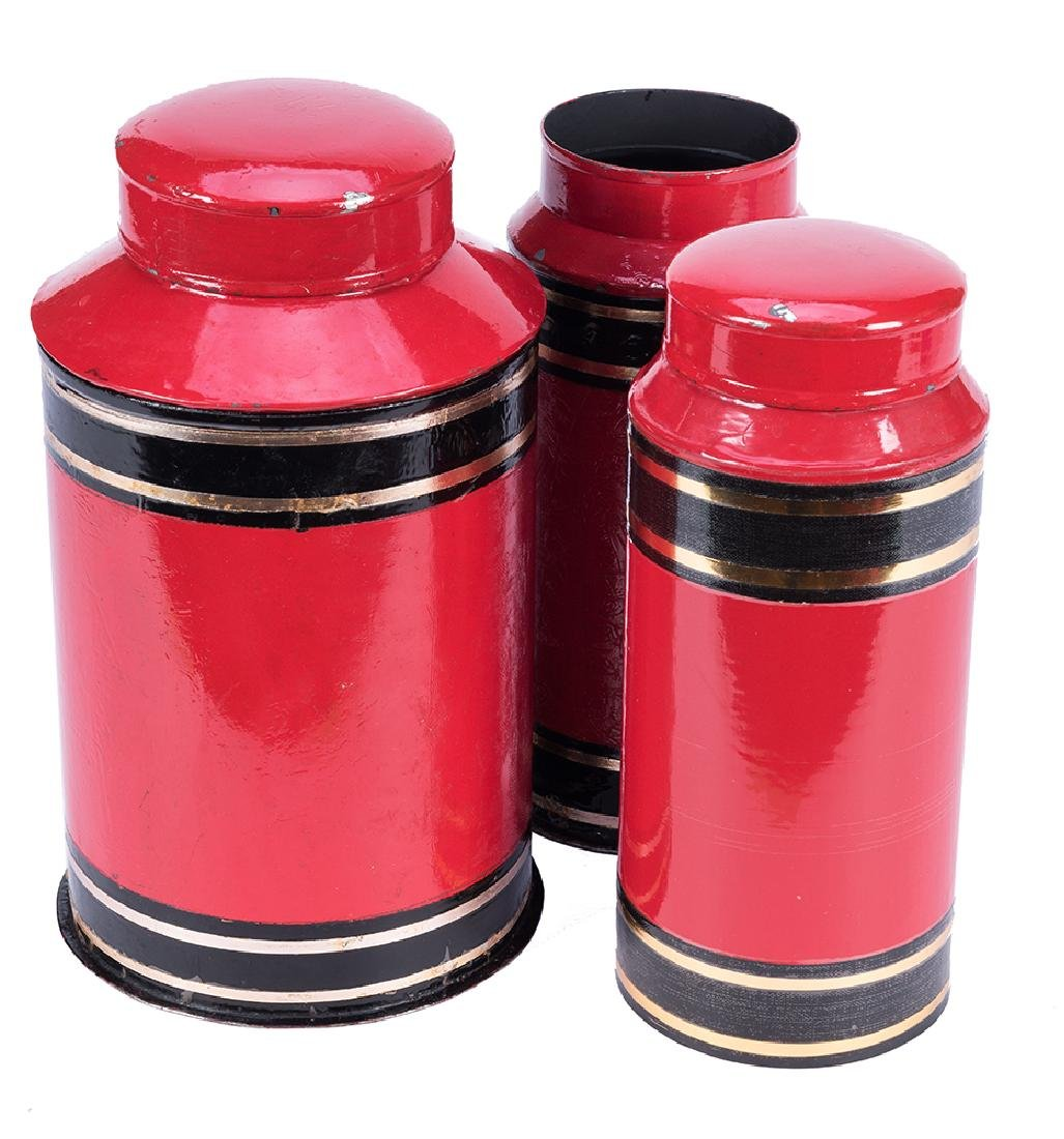 Sand and Sugar Canisters.