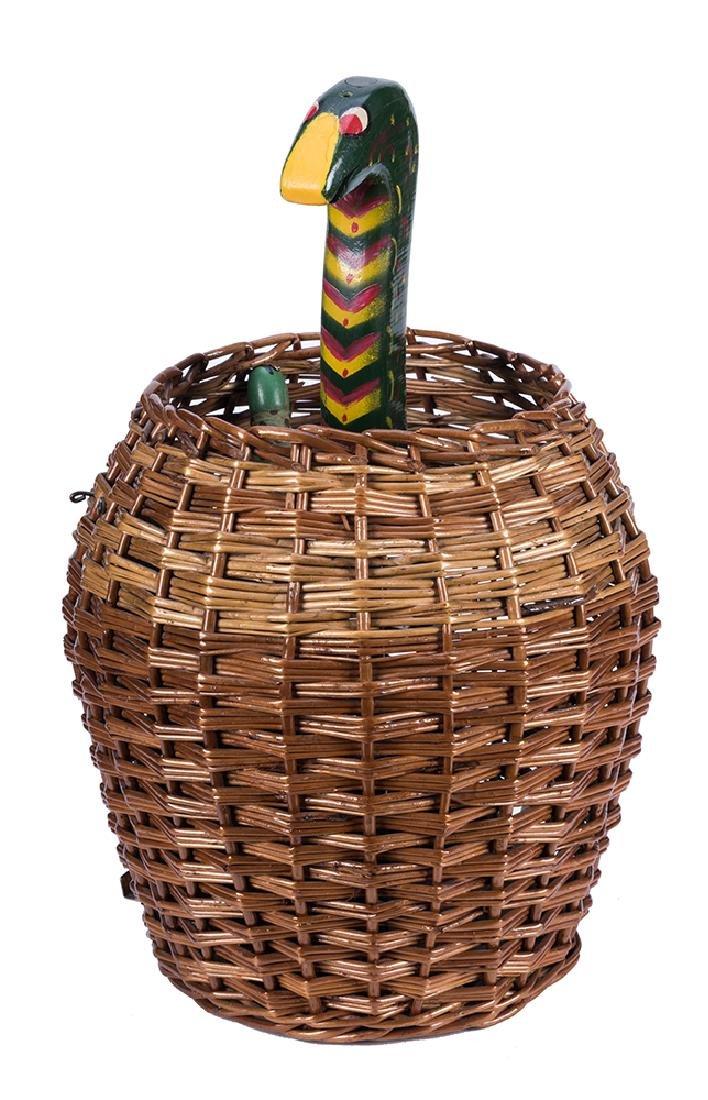 Snake Basket.