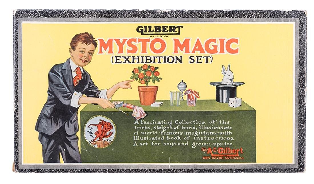 A.C. Gilbert Magic Exhibition Set No. 2005.