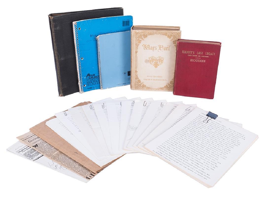 Elliot Sanford's Houdini Manuscripts and Archive.