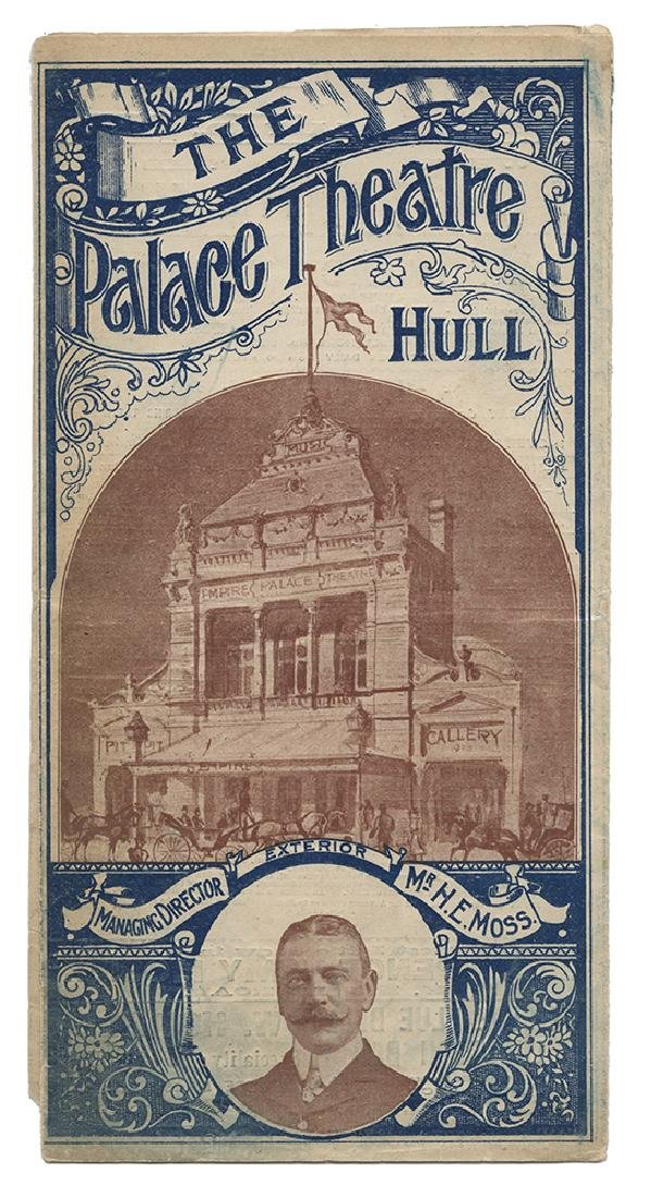 Early Hardeen British Program.