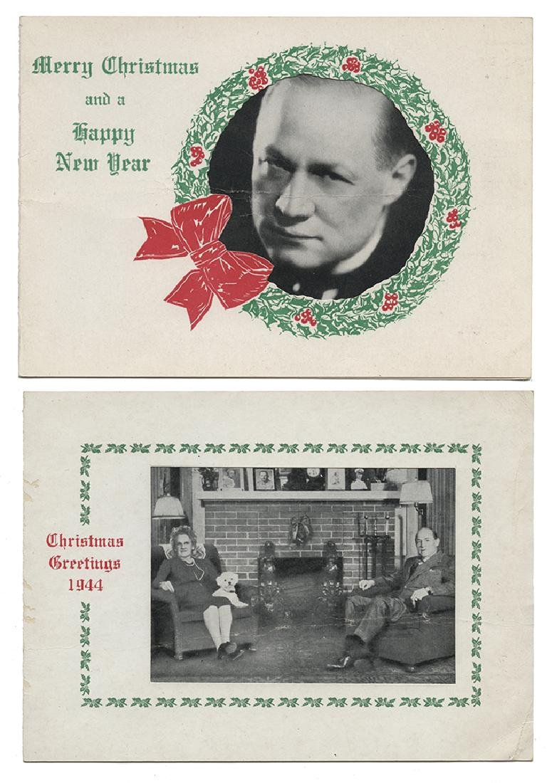 Group of Hardeen and S.A.M. Christmas Cards.