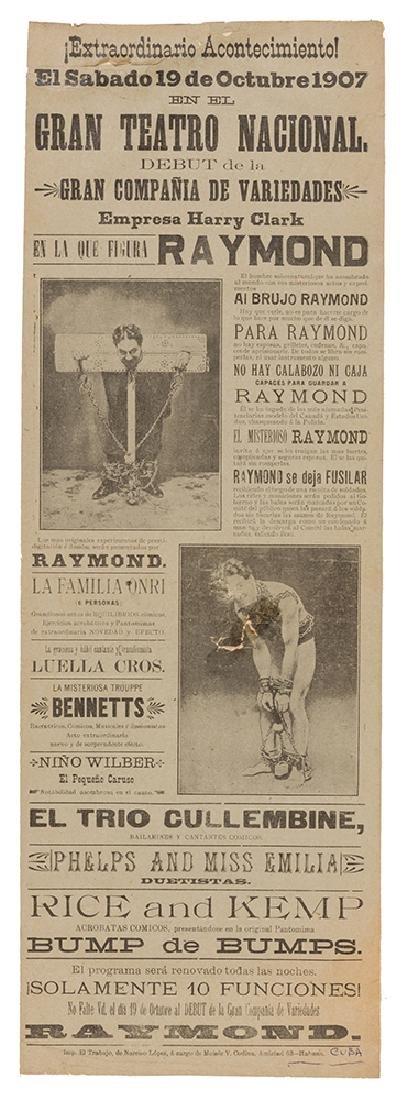 Raymond Escape Broadside.