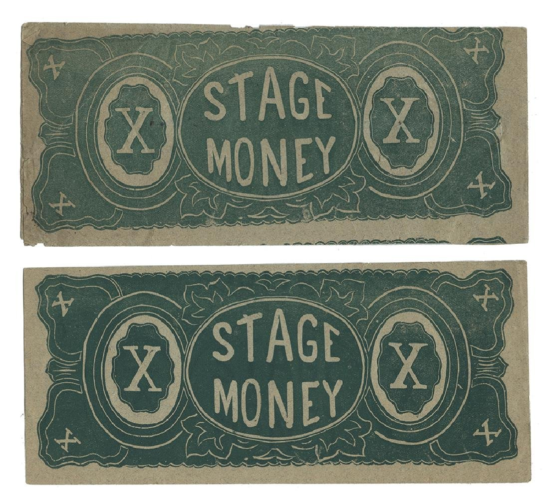 Envelope of Stage Money Attributed to Chung Ling Soo.