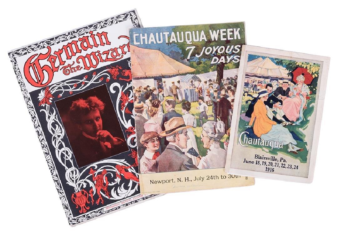 Germain Chautauqua Programs.