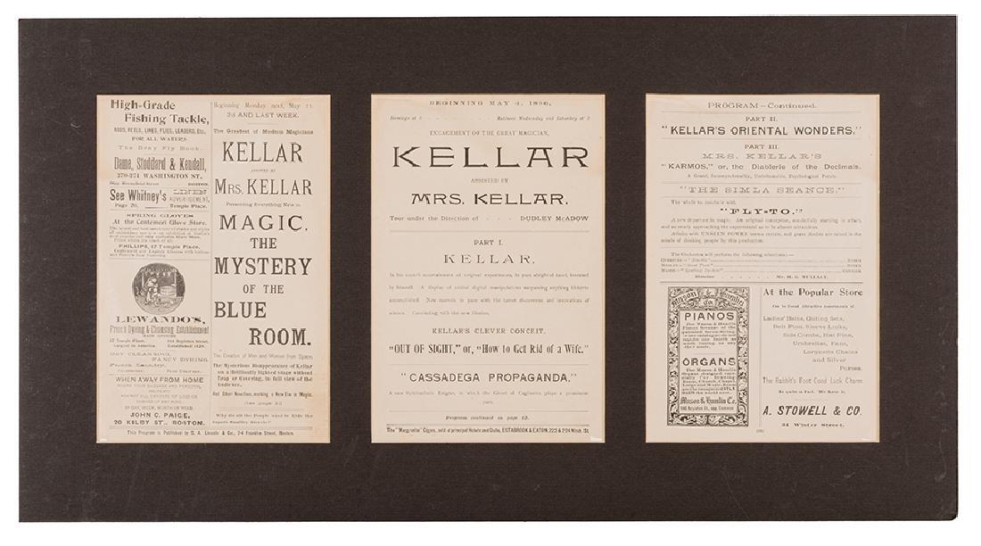 Kellar Program at the Boston Museum.