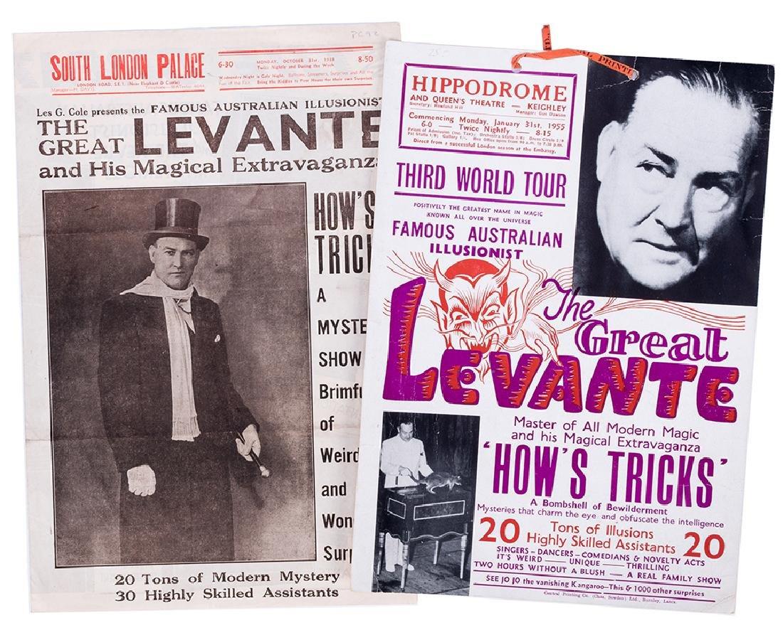 Large Binder of Les Levante Memorabilia.