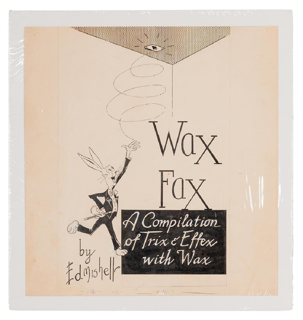 Original Artwork for Wax Fax.