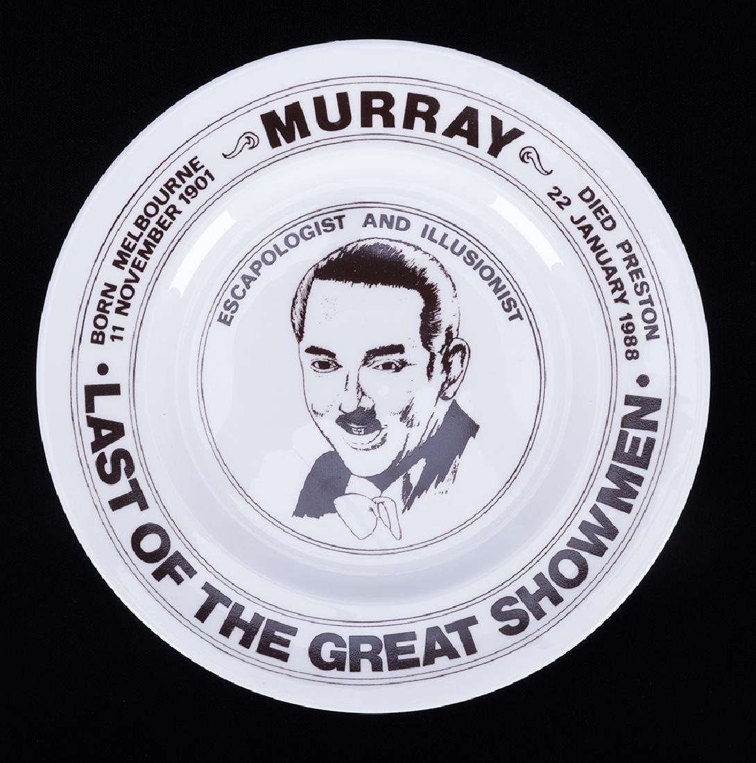 Murray Commemorative Plate.