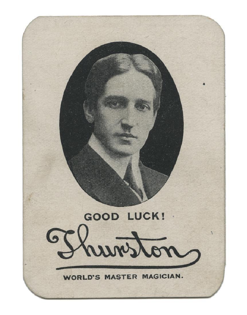 Thurston Wrigley Throw Out Card.