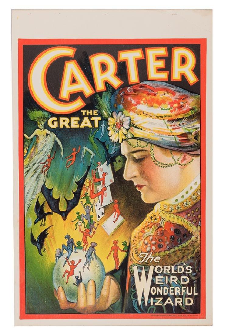 Carter The Great. World's Weird Wonderful Wizard.