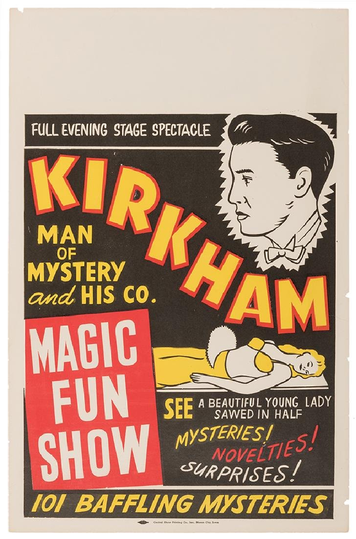 Two Kirkham Magic Fun Show Posters.