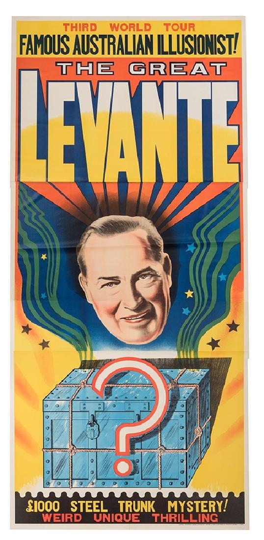The Great Levante. Steel Trunk Mystery.