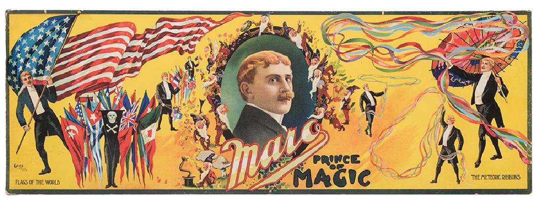 Maro Prince of Magic. Flags of the World.