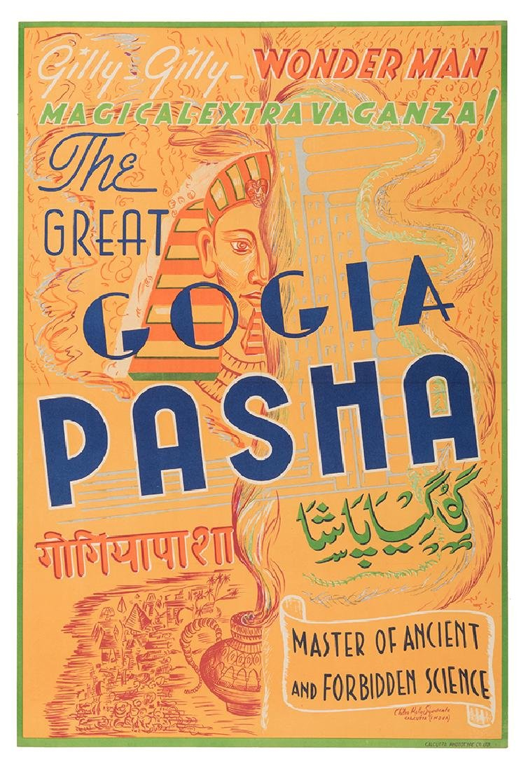 The Great Gogia Pasha. Master of Ancient and Forbidden