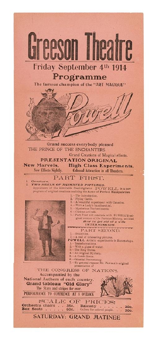 Champion of the Art Magique, Powell.