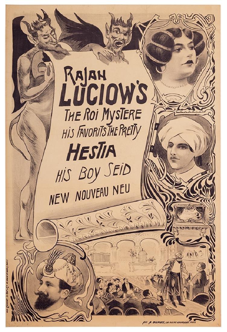 Rajan Luciow's The Roi Mystere.