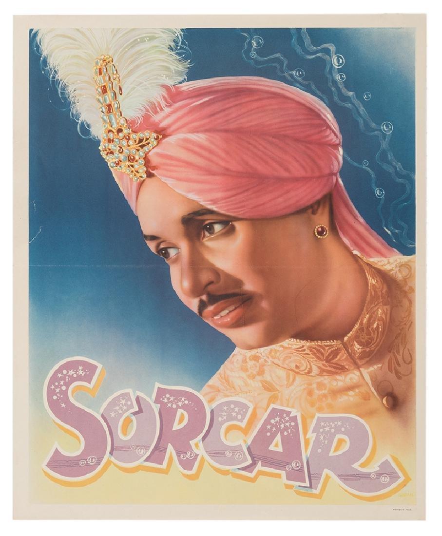 Four Sorcar Posters.