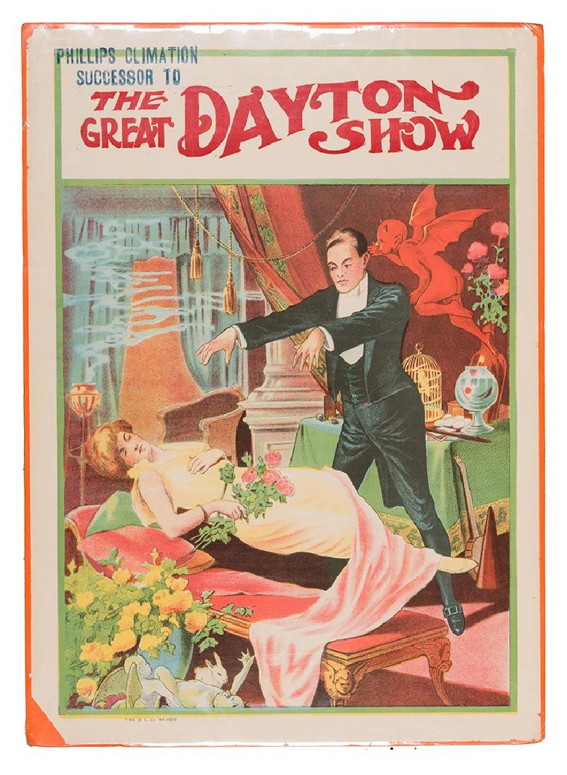 The Great Dayton Show Levitation Stock Poster.