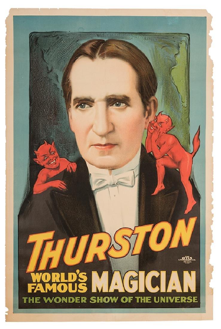 Thurston. World's Famous Magician.